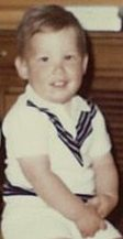 the editor's sweetie when he was 2. get a load of those cute chubby arms!