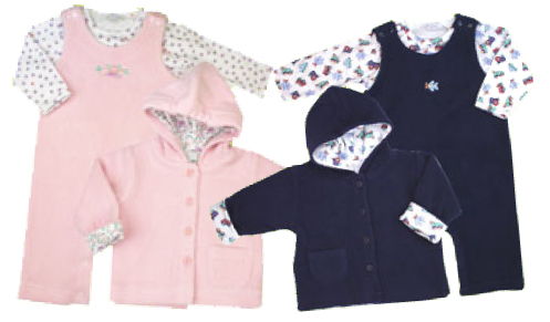 le•top sherpa 3 piece set at comfykid.com
