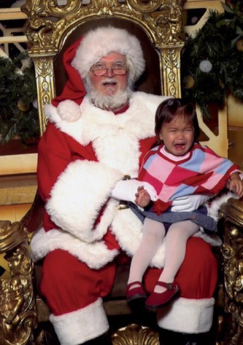 Waaahhhh...!! Santa and Miranda (age2)
