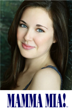 Liana Hunt is Sophie in Mamma Mia!