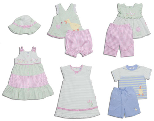 le•top tiptoe Tulip Ducklings for girls and Lucky Duck for boys. Click on the image to see all the offerings for both collections