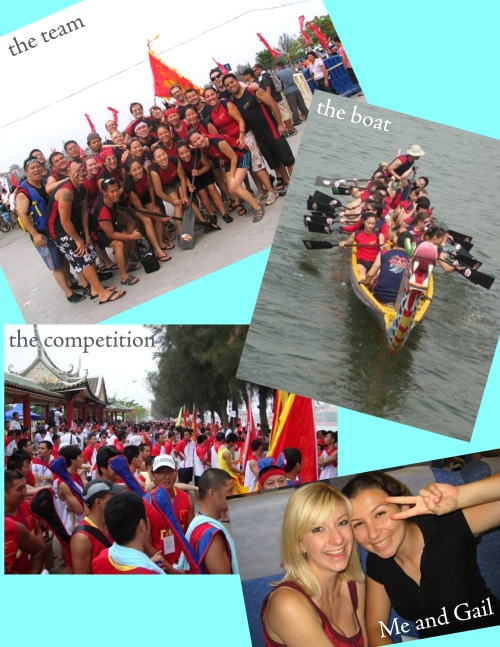 Dragon Boating Competitors