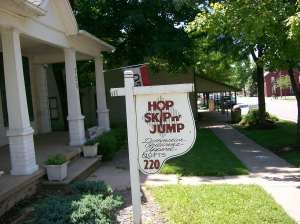 Hop Skip N Jump's Store Front Along the Old Underground Railroad