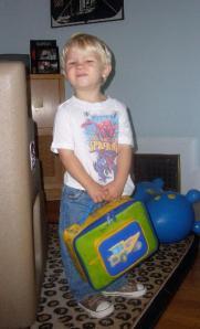 Wade Going Back to Preschool
