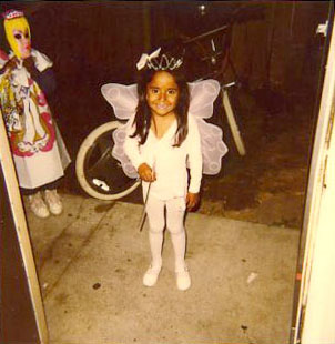 5 Year old Diana in her Pink Fairy Costume