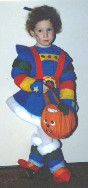 Kristin Halloween Baby