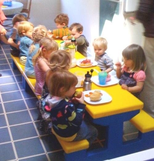 preschool lunch