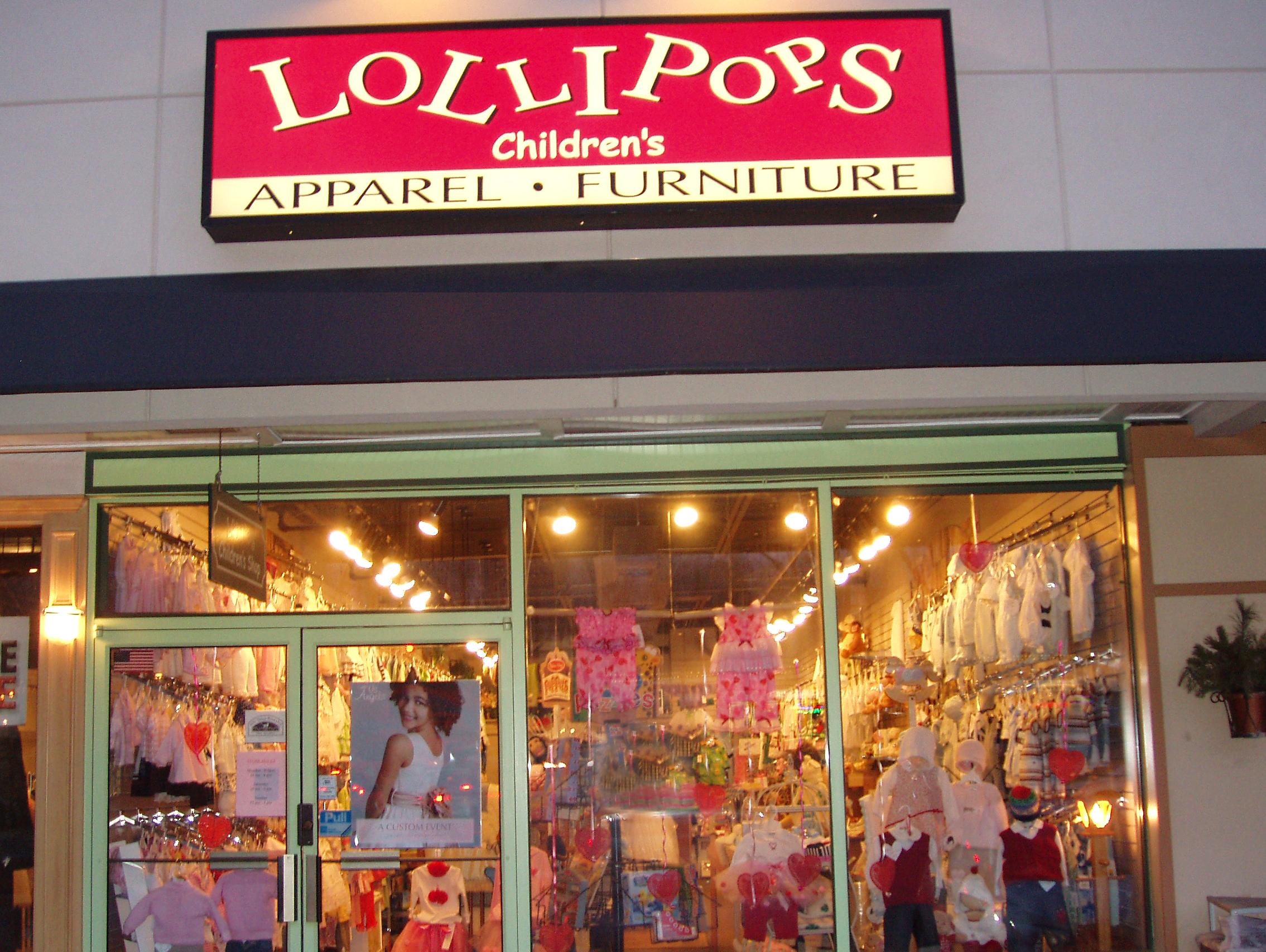 Lollipop clothing store