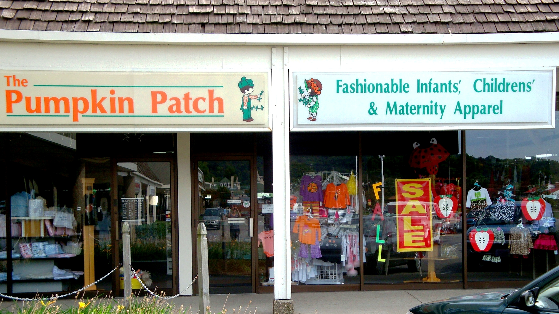 Pumpkin patch clothing store