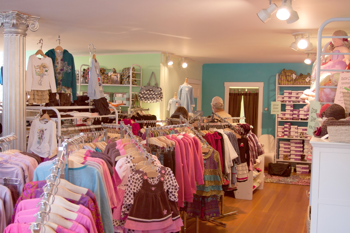 The zone clothing store