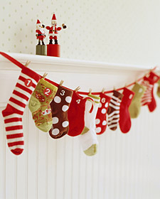 12 Days Of Christmas Socks.A Treat A Day For The 12 Days Of Christmas With Baby Socks