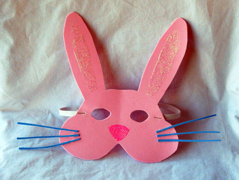 Make An Easter Bunny Mask For Kids Le Top Blog